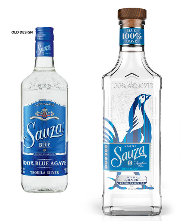 Sauza Bottle Packaging Design Label