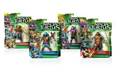Toy Package Design for Teenage Ninja Mutant Turtles