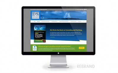 Web Design & Rebranding for E&S Grounding Solutions
