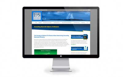 Website Design for E&S Grounding Solutions