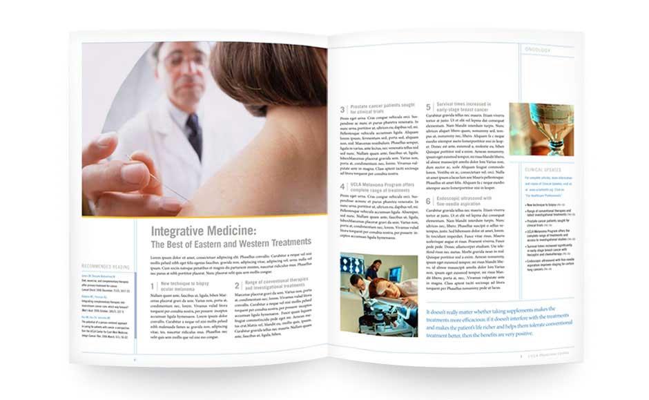 Business Brochure Design for UCLA