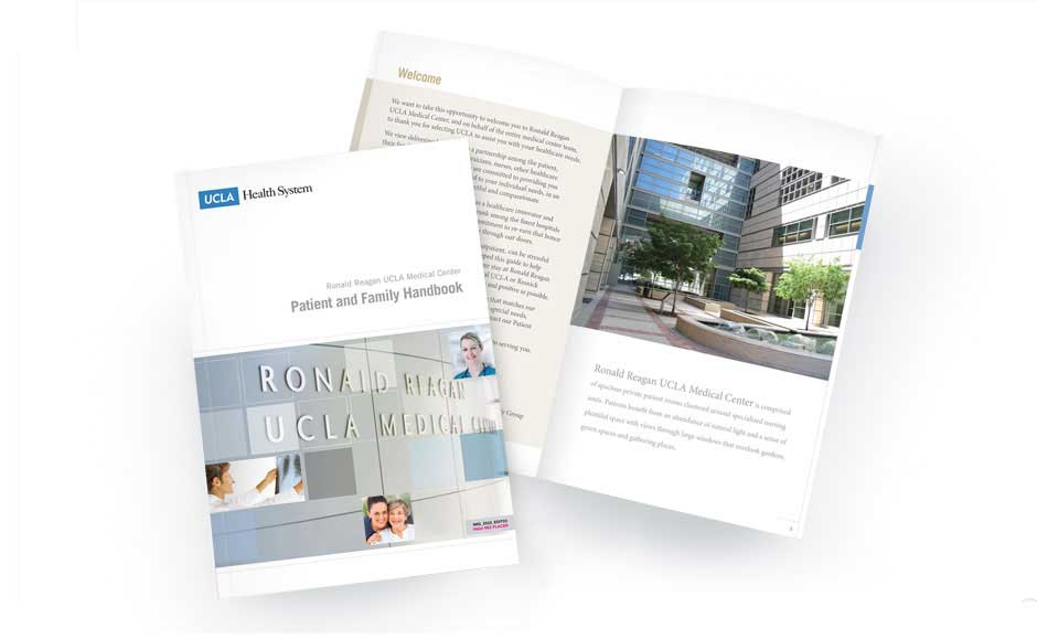 Business Brochure Designs for UCLA