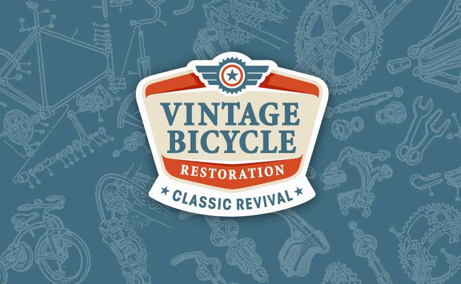 Business Logo Design for Vintage Bicycle Restoration