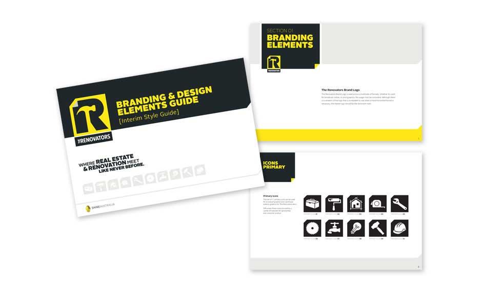 Company Brochure Designs for Renovator