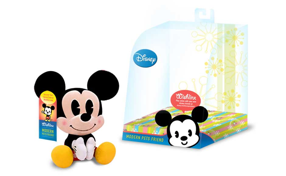 Custom Packging Design for Disney Wishlinx