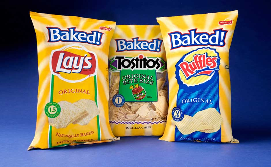 Food Packaging Design for Frito Lay Baked