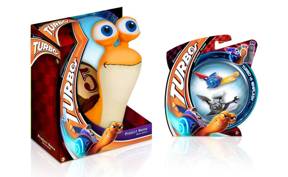 Toy Package Design for Turbo