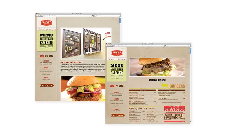 Web Design and Branding for Short Cake