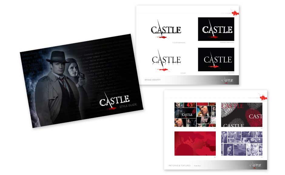 Creative Branding Design for Castle TV Show