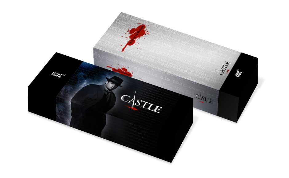 Product Packaging Design for Castle TV Show
