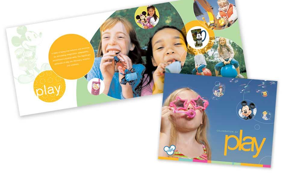 Creative Brochure Design for Disney Summit