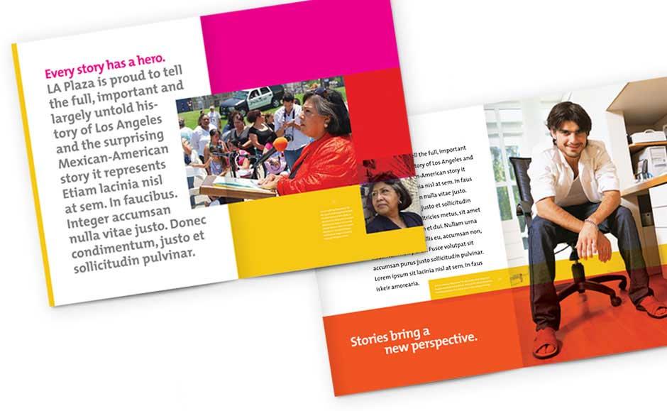 Brochure Design Extension for La Plaza
