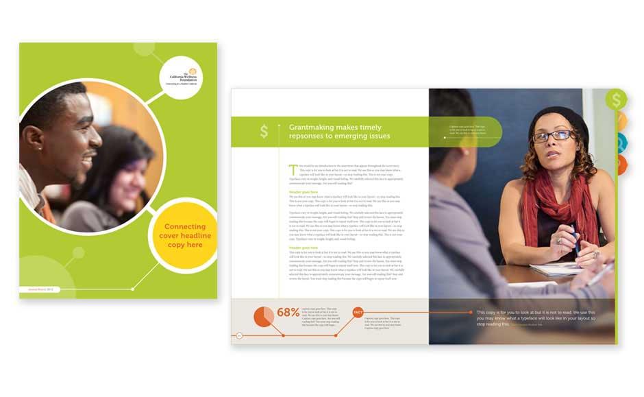 Corporate Brochure Design for TCWF
