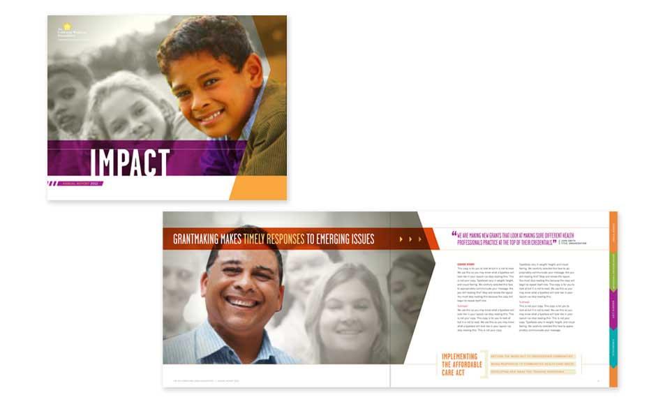 Company Brochure Design Extension for TCWF