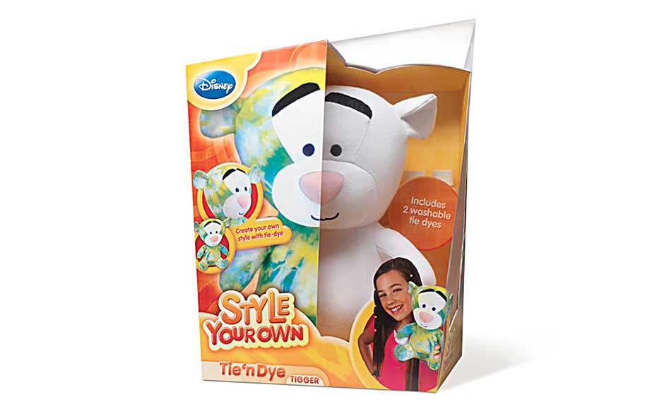 Retail Toy Package Design for Disney Style Your Own