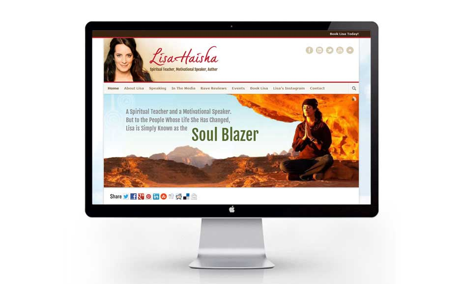 Web Design for Lisa Haisha