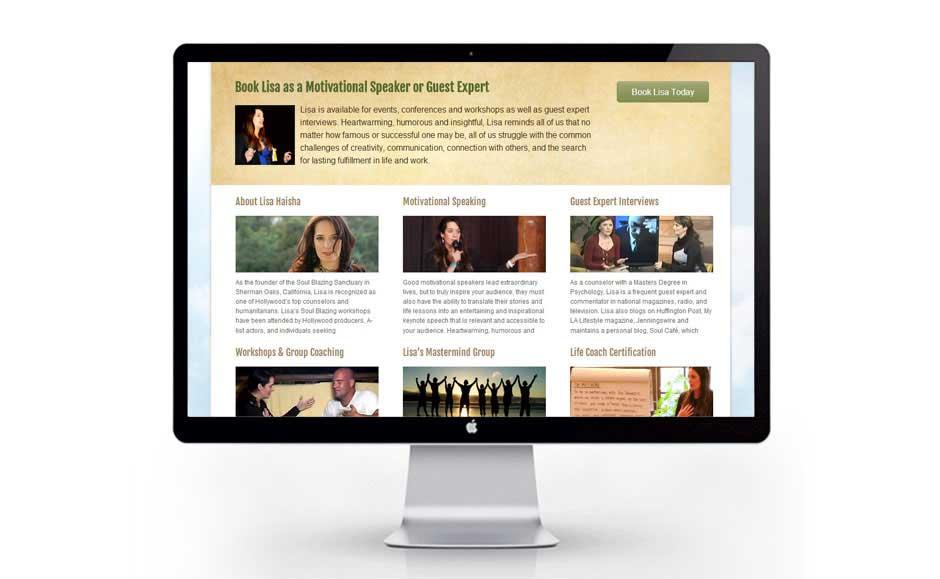 Website Design Extension for Lisa Haisha