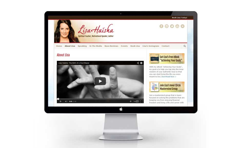 Web Design Extension for Lisa Haisha