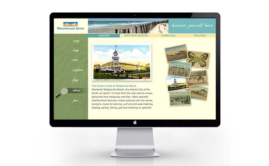 Website Design Extension for Wrightsville Beach