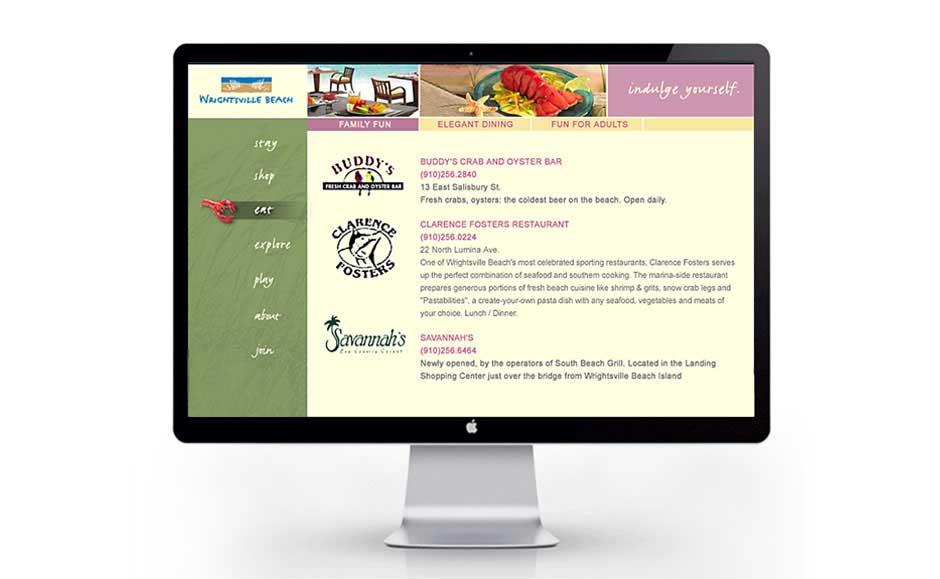 Custom Website Design for Wrightsville Beach