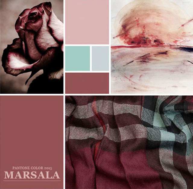 Using Pantone Marsala For Packaging Design Color Palettes