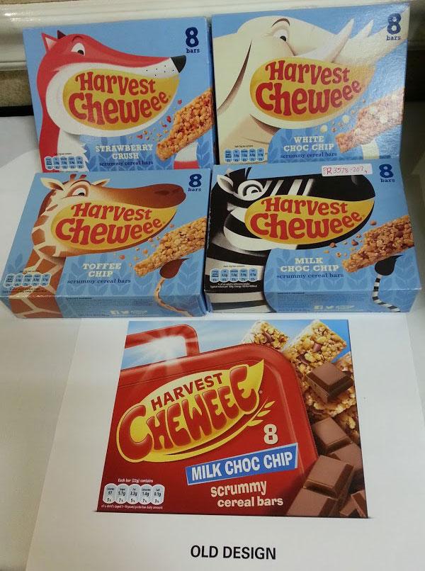 Granola Bar Packaging Design