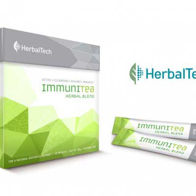 Herbal Tea Packaging Design for Germtech