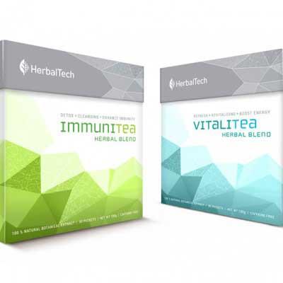 Tea Package Design for Germtech