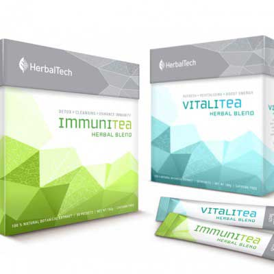 Tea Packaging Design for HerbalTech