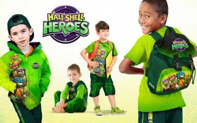 Brand Design for Teenage Ninja Mutant Turtles