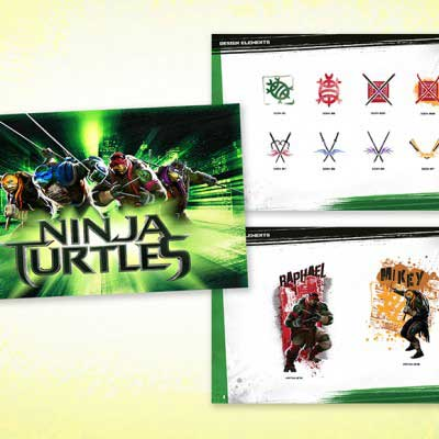 Brand Design for Teenage Ninja Mutant Turtles