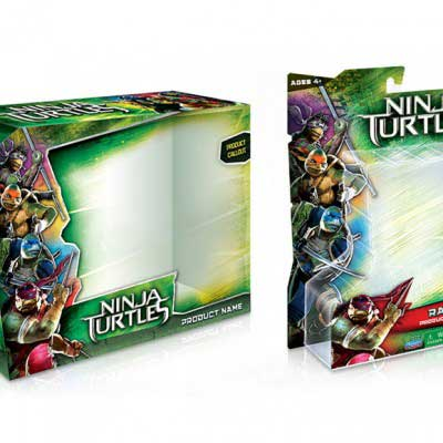 Toy Packaging Design for Teenage Ninja Mutant Turtles